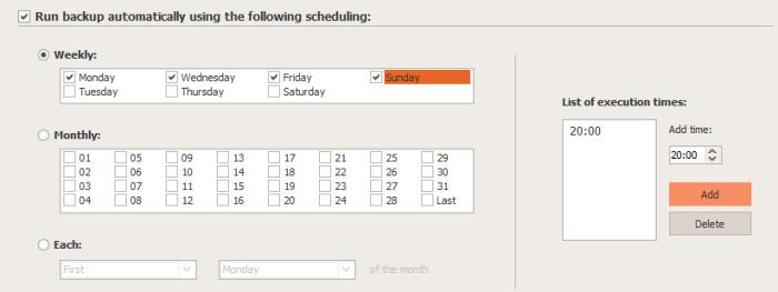 ScheduleBK